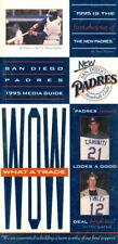 1995 San Diego Padres Media Guide Tony Gwynn/Ken Caminiti/Steve Finley