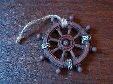 Ornamental Ship Wheel Helm Nautical Marine Decor Resin Pirate Ship Wheel Ocean