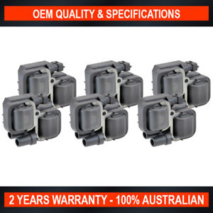 6-Pack Swan Ignition Coil for Mercedes Benz Viano W639 Vito 119P 3.2L 3.7L