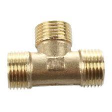 """Messing T-Form Wasser Kraftstoffleitung T-Adapter Verbindung 1/2"""" Gewinde M4S5"""