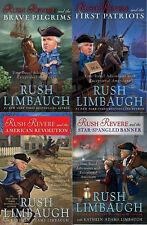 Rush Revere Hardcover Book Series Volumes 1-4 Juvenile Historical Adventure NEW!