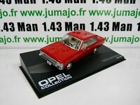 OPE107R voiture 1/43 IXO eagle moss OPEL collection : CHEVROLET OPALA 1968 69