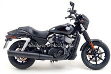 MOTO HARLEY DAVIDSON STREET 750cc Noir 1/12 MAISTO DEC16SP