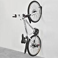 New Bike Bicycle Wall Mount Hook Rack Mounted Holder Hanger Black Stand Storage