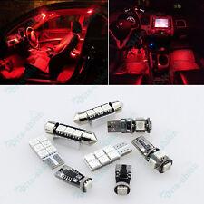 Canbus Red LED Interior Light Kit For Volkswagen MK5 GTI Golf Rabbit 03-09 -16Pc