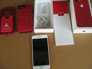 Apple iPhone 7 Plus 32GB/128GB – with box  Red  color