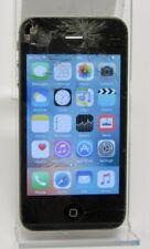 Apple iPhone 4s 16GB Black A1387 MC922LL/A AT&T GSM CDMA 8MP Reset Tested