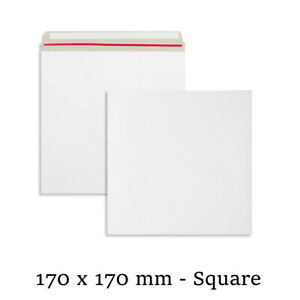 Quality All Board White Envelopes 170x170 mm Size For Calender Cheap Mailer
