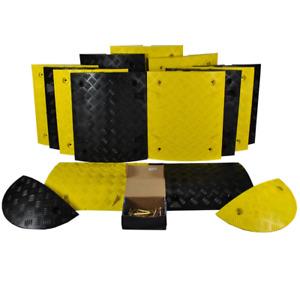 Speed Bump Ramp Hump Kit 50mm Traffic Calming Road Safety 1-10M