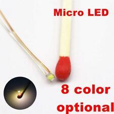 25Pcs Pre-Soldered Micro Litz Wired Leads Warm White Smd Led 0603 + Muti-Resisto