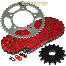 Red O-Ring Drive Chain & Sprocket Kit Fits KAWASAKI KZ400 LTD 400 1974-1979