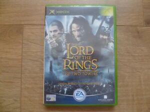 The Lord of The Rings - The Two Towers, Xbox Original Game & 20 Page Manual