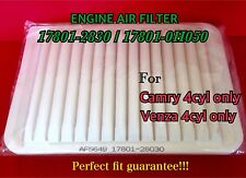 AF5649 PREMIUM Engine Air Filter For  2007-2016 TOYOTA CAMRY & VENZA 4 CYLINDERS