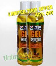 2 frascos Lipo Gel Reductor Pina 8oz quema grasa mit Meeresalgen Fat Reductor