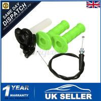 Quick Action Throttle Grip Twist Cable For 90 110 125cc ATV Pit Dirt Bike Blue