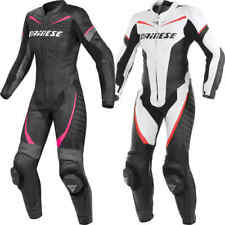Dainese Ladies Racing 1 Piece Motorcycle Leather Suit