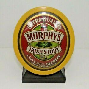 Rare MURPHY'S IRISH STOUT Beer Bar Pump Top ideal for Home bar man cave