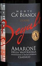 "6 BT. AMARONE DELLA VALPOLICELLA DOCG "" CA BIANCA "" 2010  BEGALI"