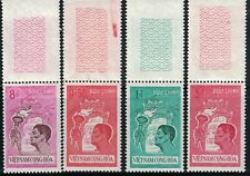 Vietnam Stamps 1961, 174-77, Youth Movement, MNH, w/ Tabs EXC set