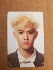 Suho Exo Overdose Official Photocard