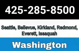 (425) BELLEVUE / SEATTLE AREA CODE PHONE NUMBER - PORT/TRANSFER TO ANY CARRIER