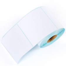 1200pcs Thermal Sticker Adhesive Paper Waterproof Package Label Blank Tag