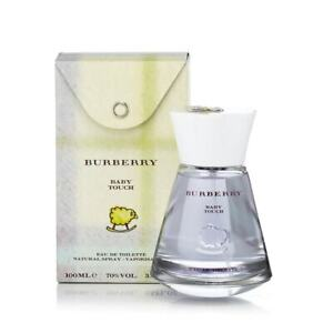 Burberry Baby Touch Eau de Toilette 100ml / 3.3oz spray new Free Shipping!