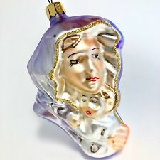 Christopher Radko Mary and Jesus Mother and Child Glass Ornament