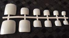 48 x Toe Nails Acrylic False Fake Toenails 12 Different Sizes -Natural #cna48