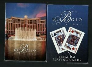 Bellagio Casino Playing Cards Brand New Casino Las Vegas Mint Condition