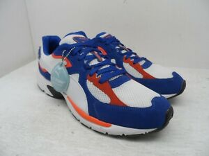 Puma Men's Axis Plus SD Athletic Shoe White Galaxy Blue Size 12M