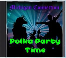 MZ 182 - Michigan Connection - Polka Party Time - POLKA CD