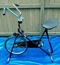 Vintage Stationary Training Exercise Bike Lifestyler Dp Pacer Deluxe Rare