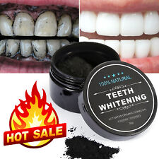 Charcoal Natural Organic Activated Teeth Whitening Powder Toothpaste whitener