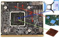 Kit de remplacement carte graphique 6770M pour iMac pour Carte graphique HD 6970