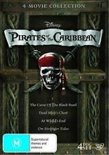 Pirates of the Caribbean QUADRILOGY 1 2 3 4 : NEW DVD