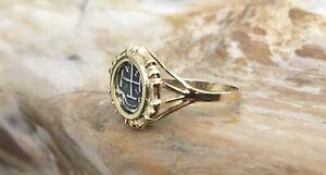 Atocha Coin Ring Ladies GP /925 Silver Sunken Treasure Shipwreck Coin Jewelry