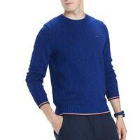 TOMMY HILFIGER NEW Men's Malcom Marled Crewneck Sweater TEDO