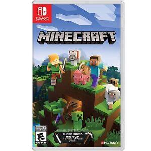 Minecraft (Nintendo Switch) Includes Super Mario Mash-Up + Case and Cartridge