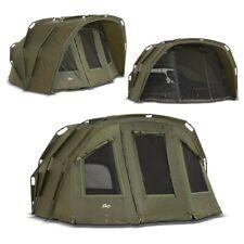 Lucx ® Angel Tent 1 2 3 MAN Carp Tent Carp Fishing Dome Tent 2 Man Bivvy Tiger