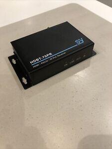 SY Electronics HDBT-70PR HDMI / RS232 / IR PoC Receiver