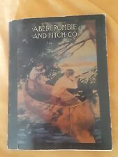 Awesome antique Abercrombie And Fitch Co. 1910 Hunting Fishing Outfitters/Equip