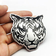 Metal Tiger Car Emblem Badge 3D Animal Logo Auto SUV Sticker Decal