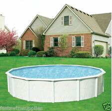 "24' x 52"" Round Above Ground Swimming Pool + Super Awesome Package Complete"