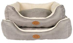 Banbury & Co Luxury Dog Sofa Bed Fabric Fleece Lined Dog Bed