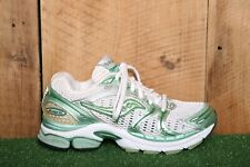 SAUCONY Pro-Grid 'Triumph 4' Silver & Mint Green Running Shoes Women's Sz. 6.5