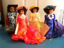 4 Dolls-Royal Dolls of Hawaii Collection of 3 +1 Miss Hawaii Doll w/box Vintage