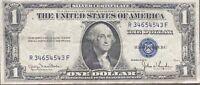 USA 1 Dollar 1935 D Silver Certificate One Banknote Schein Gute Erhaltung #21967