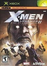***X-MEN LEGENDS 2 ORIGINAL XBOX Complete***