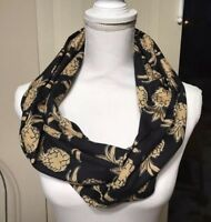 New Simply Southern Tees T-shirt Collection Women's Pineapple Infinity Scarf